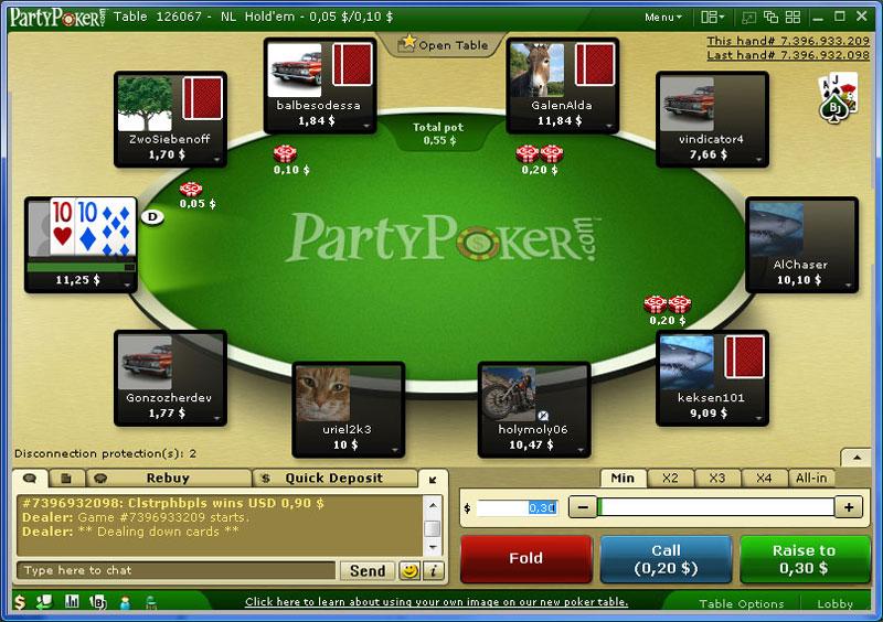 пати покер бездепозитный бонус