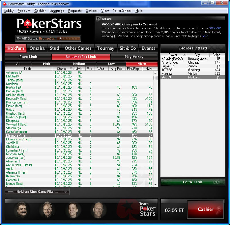 pokerstars казино код бонуса